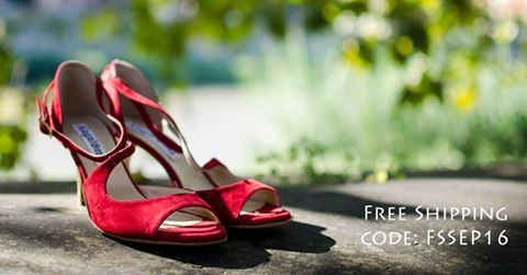 Flash promotion! 48 h of FREE SHIPPING... starting by now! use the code: FSSEP16 http://www.italiantangoshoes.com/shop/en/