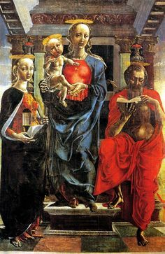 Cosimo Tura - Virgin and Child Enthroned - National Gallery, London, UK