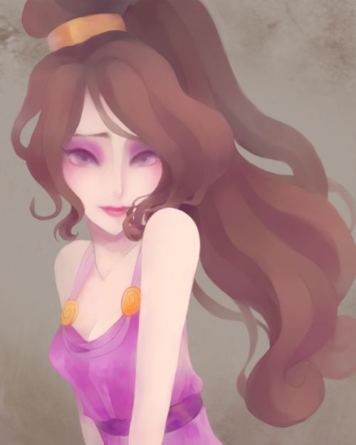 Princesses Fanarts....Meg