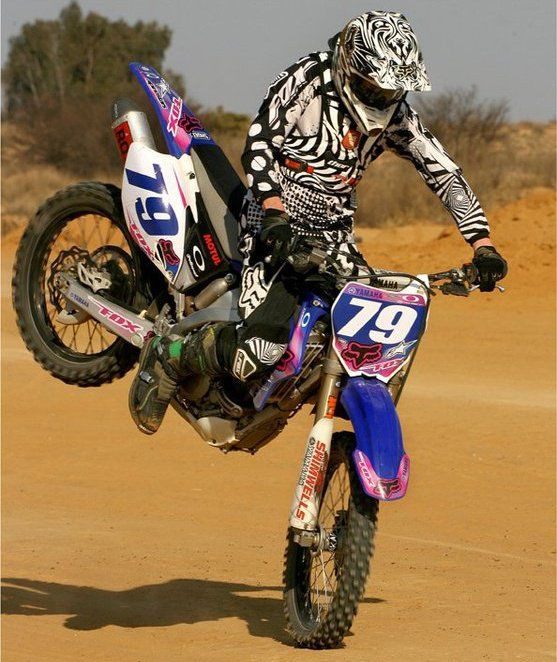 I've been on something with a motor most of my life.. At 7 years old, I started off on a dirtbike.