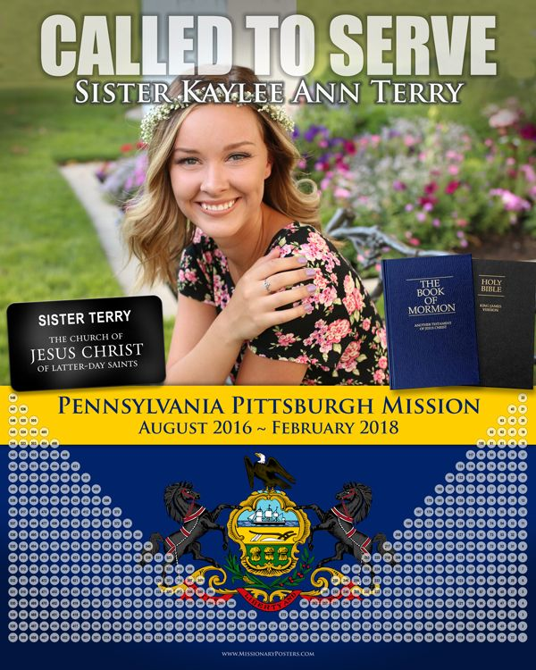121 best LDS Missionary Countdown Calendars and Posters images on ...