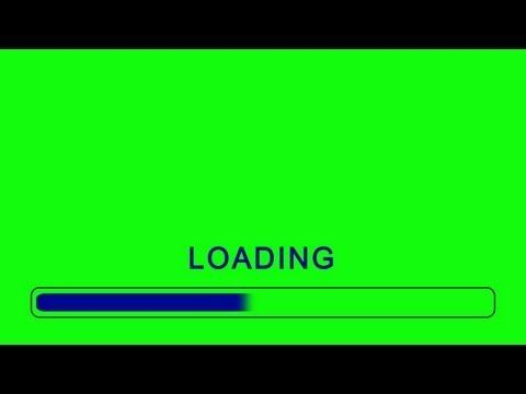 Loading Bar Animation Green Screen Effect Youtube Greenscreen Green Screen Video Backgrounds Green Screen Footage
