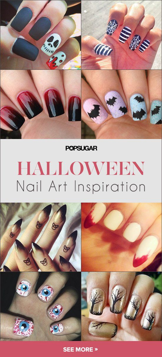 Pin for Later: 101 Idées de Nail Art Spécial Halloween