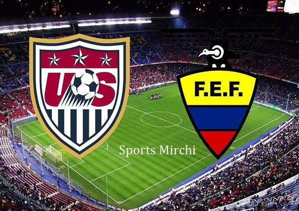 Watch live streaming of United States vs Ecuador football match. Tune this channel to watch Ecuador vs USA live soccer match streaming and telecast online.