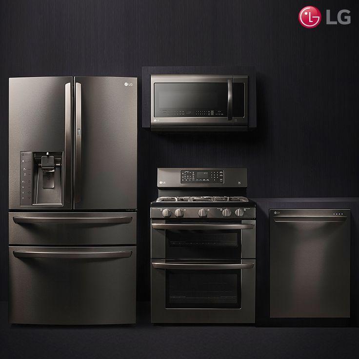 Black Stainless Kitchen Samsung