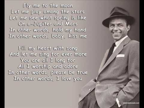 Fly Me To The Moon - Frank Sinatra - Lyrics