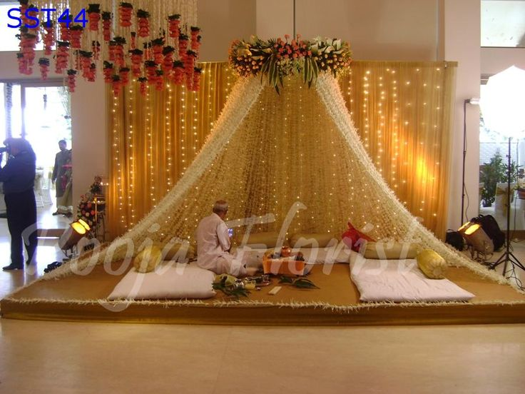 236 Best Pooja And Festival Decor Images On Pinterest Baby Shower Decorations Ceremony
