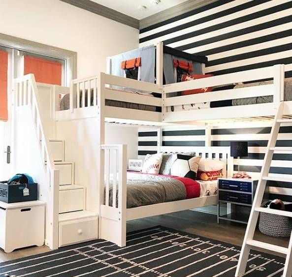 21 Space Saving Corner Bunk Bed Ideas Corner Bunk Beds Corner