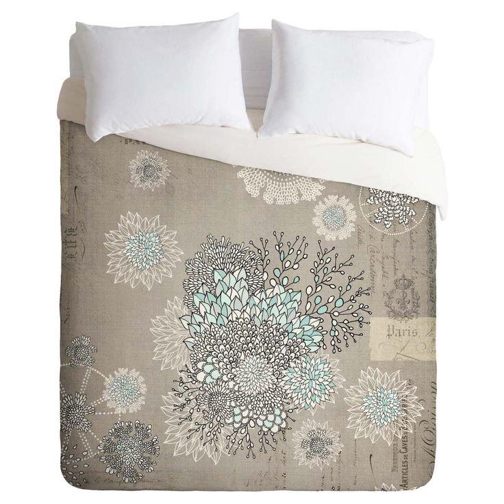 Iveta Abolina French Blue Duvet Cover by DENY Designs - 12883-DLIKIN