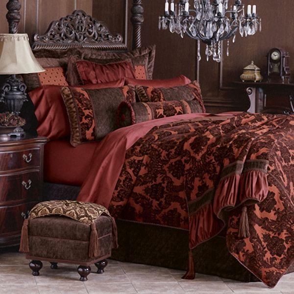 Red Luxury Bedrooms 63 best bedrooms images on pinterest | luxury bedding, beautiful