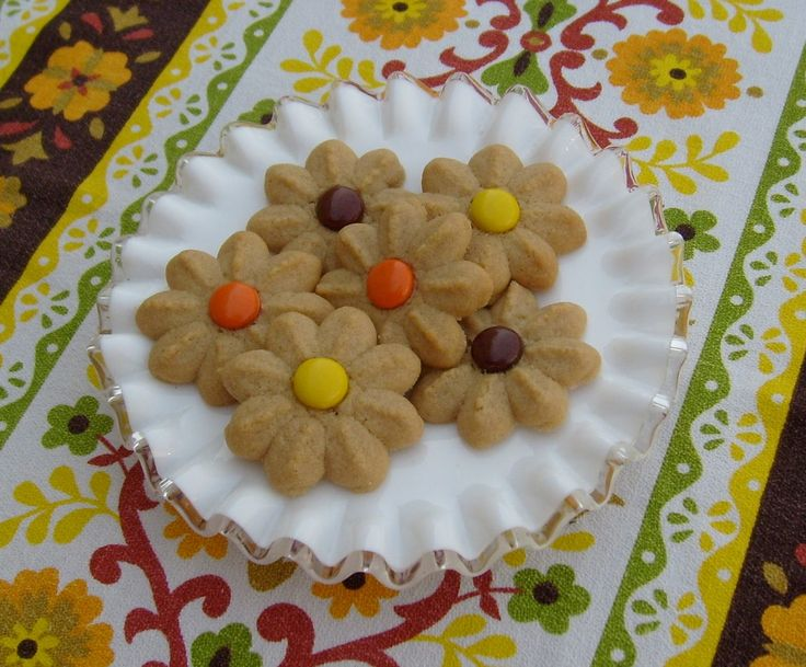 Happier Than A Pig In Mud: Peanut Butter Spritz Cookies