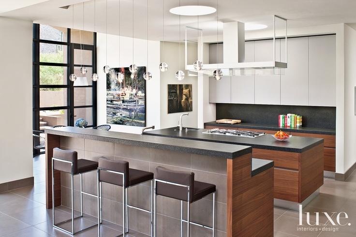Baker + Hesseldenz Design and Clayton R. Joyce Architects - lighting detail