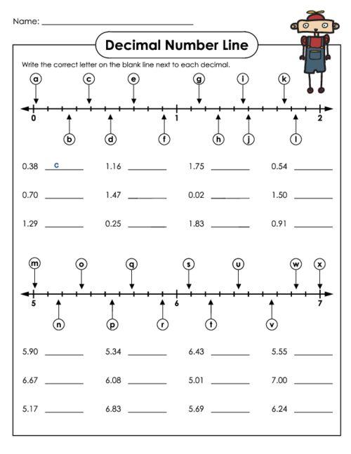Best  Rounding Decimals Worksheet Ideas On   Rounding