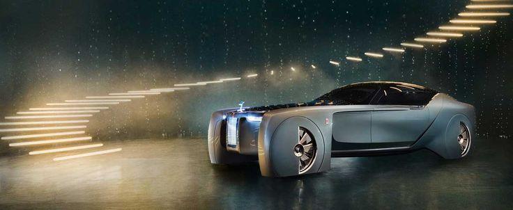 Rolls-Royce next 100: das Visionsfahrzeug gastiert in der BMW Welt