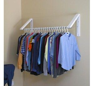 quikcloset clothes storage solution closet storage