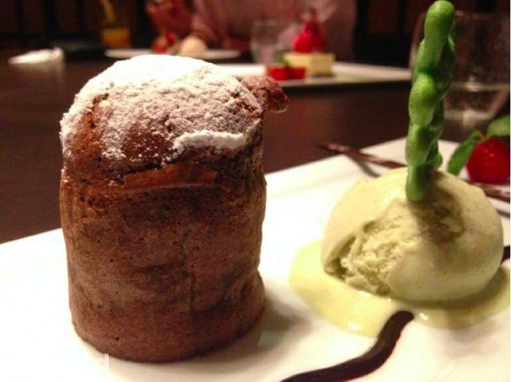 Chocolate Volcano at Auroz