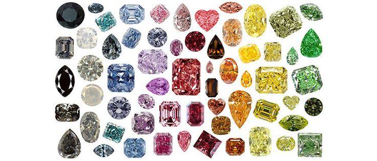 fancy coloured diamonds