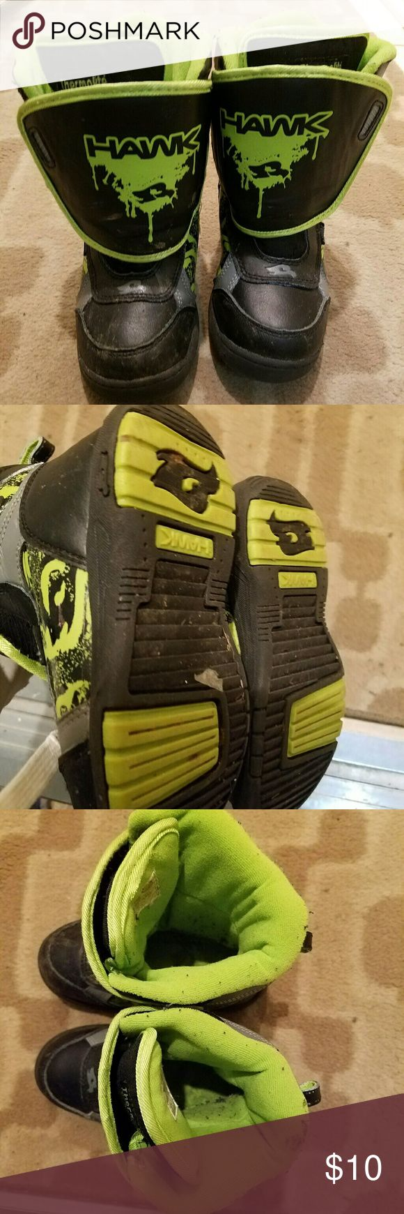 Tony Hawks boys boots Boys boots, barely used, excellent condition Tony Hawk Shoes Rain & Snow Boots