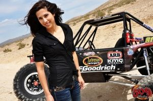 Nicole Johnson Rock Crawler | Nicole Johnson présente à Chambon sur Jeep