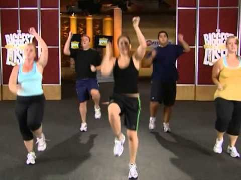 The Biggest Loser Cardio Max Workout (www.toloseweightt.com)- Favorite workout. Nothing motivates like watching people much larger than me going harder.
