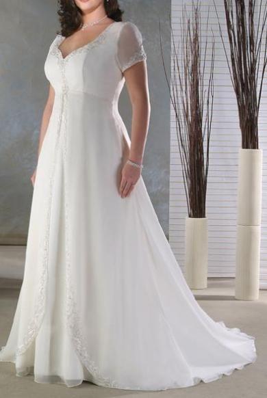 Svadobné šaty XXL013
