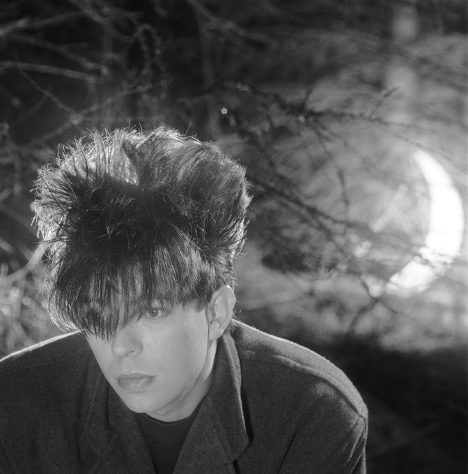 Ian McCulloch by Brian Griffin