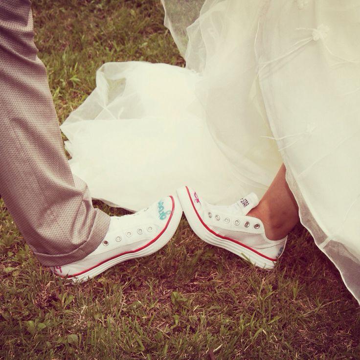 Groom & Bride Converse