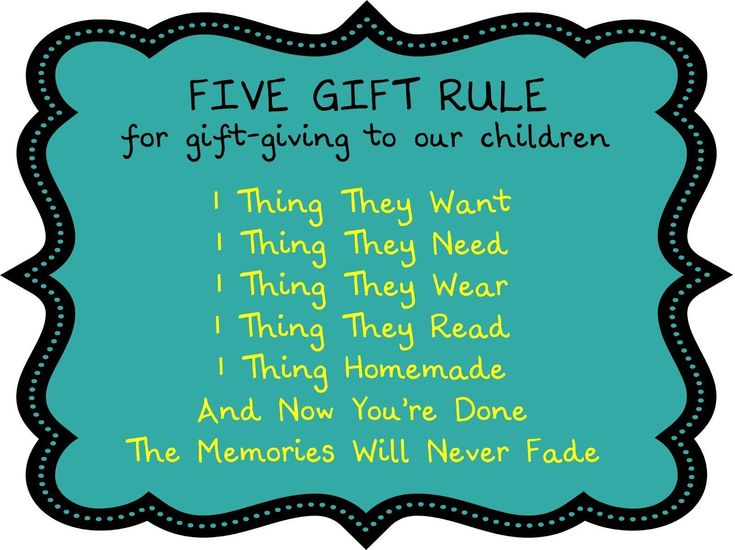 Birthing Me: The Five Gift Rule...LOVE LOVE LOVE THE 1 THING HOMEMADE! So doing this for our kids this year! The Christmas Day is coming but you still don't know what to give to your colleagues, children or relatives? I can to help you out this question  christmas ideas for boyfriend | christmas ideas for boyfriend diy | christmas ideas for kids | christmas presents | christmas presents for boyfriend | christmas presents for boyfriend teen | christmas presents for dad | christmas presents…