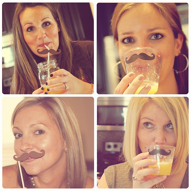 Little Man Baby Shower--a mustache themed shower with lots of great food and decorating ideas--cute and creative!