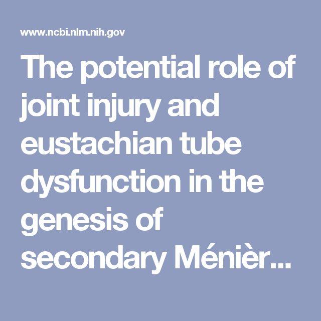 eustachian tube dysfunction treatment pdf