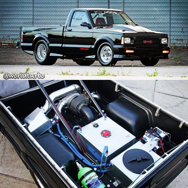 1991 GMC Syclone - 262cid V6 - Rear Mount 88mm Precision ...