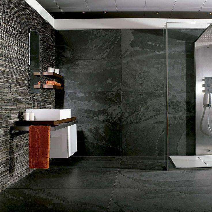 les 25 meilleures idées de la catégorie ardoise salle de bains sur ... - Faience Ardoise Salle De Bain