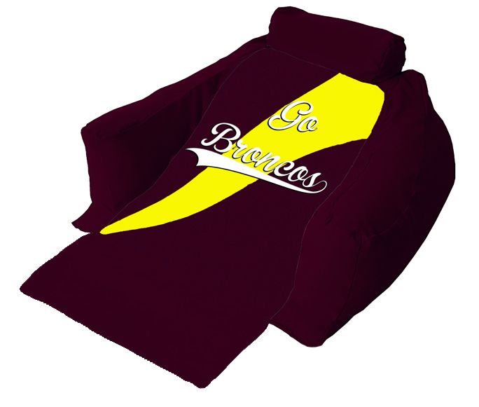 Sit back and enjoy the game while relaxing on your very own Brisbane Broncos Wedg-eze support lounger. Get one NOW!