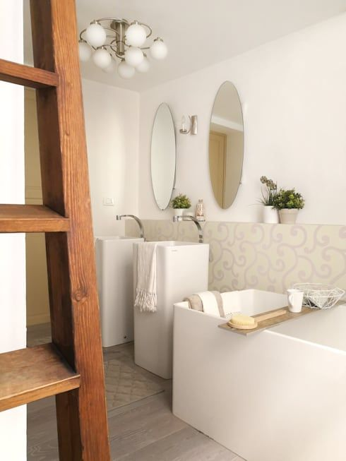 Home Staging Appartamento Storico a Pisa | Bagni eleganti da copiare ...