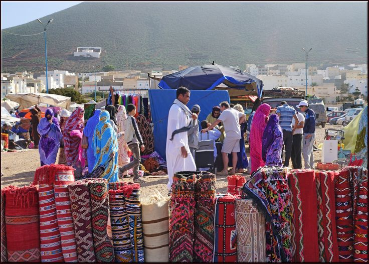 https://flic.kr/p/eeoEWm | coloured crowd | from my trip to Morocco last winter Ifni, Souss-Massa-Draa, Morocco