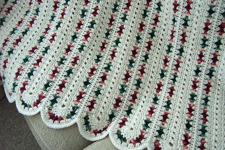 Crochet Stitches Pdf Free Download : Aran Crocheted mile a minute afghan blanket INSTANT DOWNLOAD PDF ...