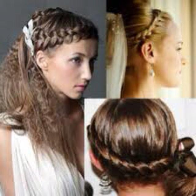 Best Greek Mythology Photoshoot Images On Pinterest - Diy greek hairstyle