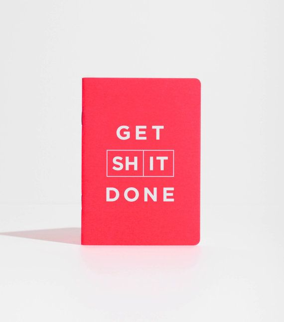 Daily To Do List Get St Done notebook red daily planner by MiGoals / TechNews24h.com