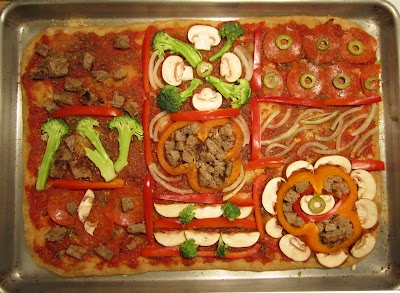 pizza quilt | Yummy Stuff | Pinterest