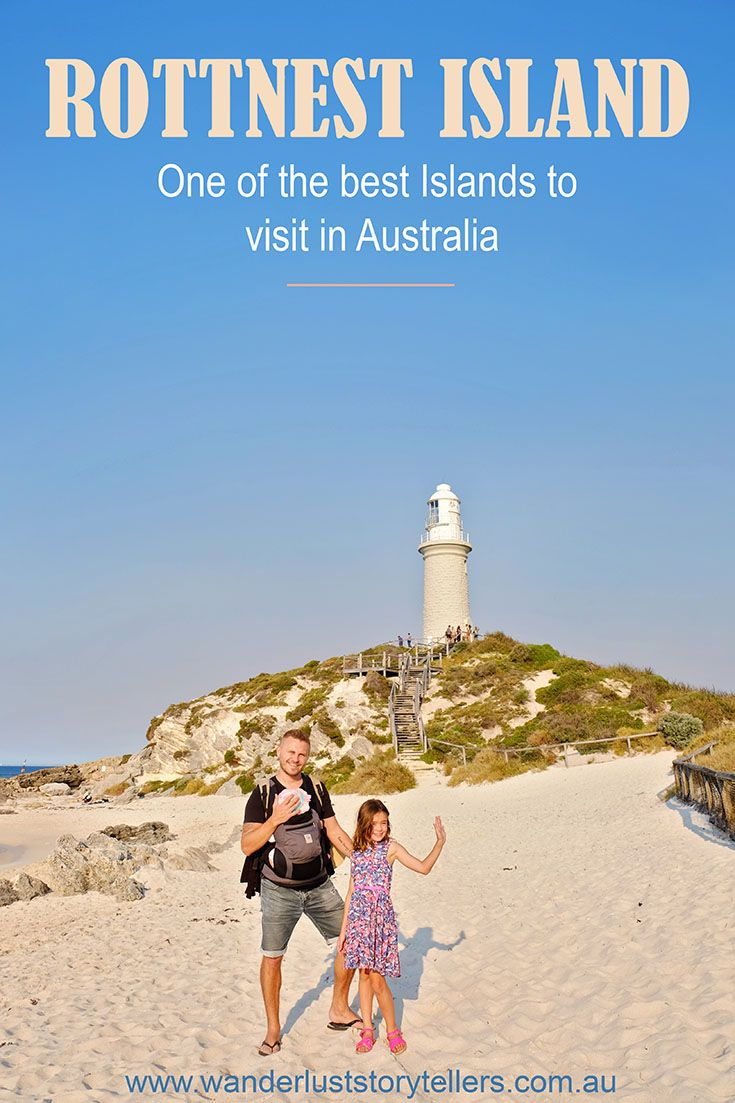 One of the best islands to visit in Australia!  Rottnest Island is a gorgeous Island located within easy reaching distance from Perth city in Western Australia.  This should be on your list of top things to do in Perth! Click photo to read more ...