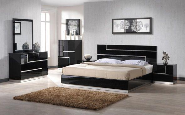 Bedroom Furniture, Black Modern Bedroom Furniture