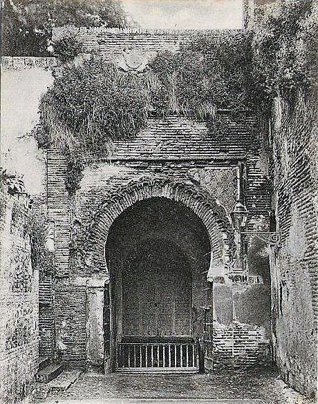 Interior de la Puerta de La Justicia