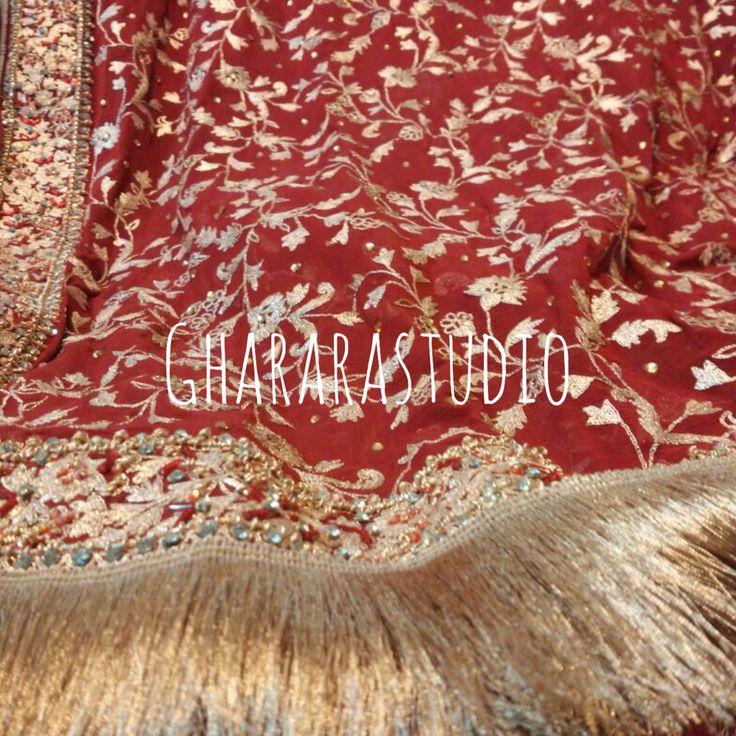 Bridal Gharara with beautiful and intricate handwork. Deliver Worldwide Complete stitched  Whatsapp @ 9971865919 ghararastudio@gmail.com #Gharara #gharara4u #ghararalovers #ghararastudio #ghararadesgins #ghararapraise #bride #bridal #bridalgharara #wedding #weddingdress #weddinggharara #weddinglehenga #lehenga #redsilk #silk #silkgharara #zari #kundan #handwork #handcrafted #picoftheday #lookroyal #instapic #instalove #instagharara