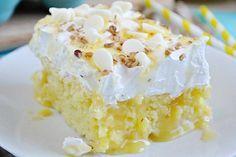 Slastna in osve�ujo�a limonina torta (Poke cake).