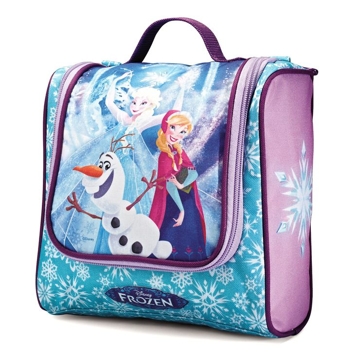 An enchanting way to travel, the Disney Frozen Toiletry Kit by American  Tourister not only offers a great exterior featuring Disney animation, its  interior ...