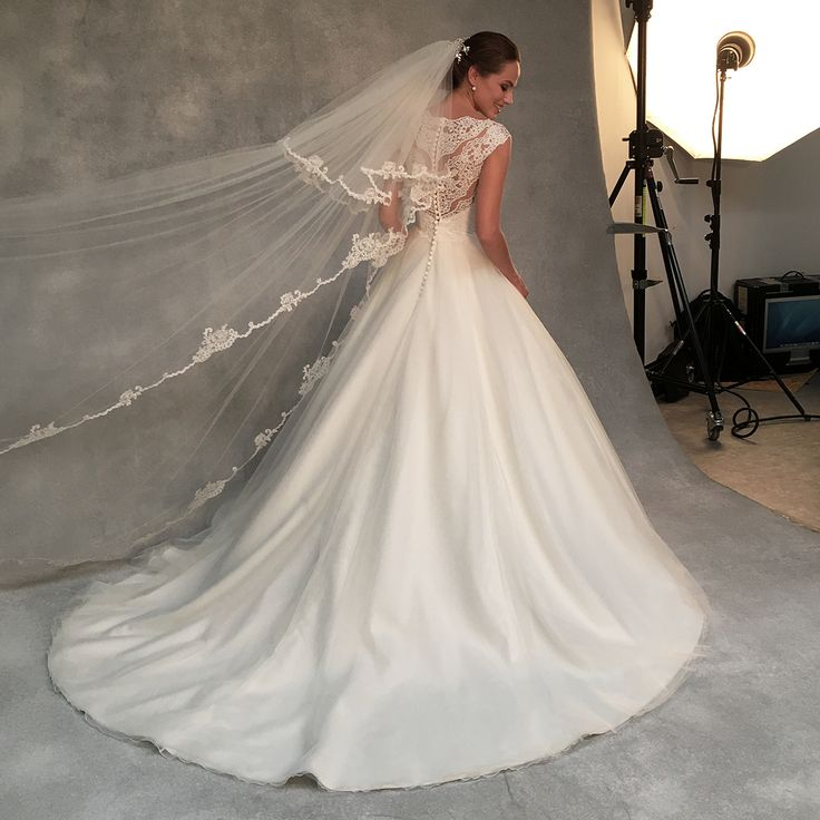 The sensational 'Bronte' by Anna Sorrano ✨The romantic tulle skirt and intricate lace bodice have been finished at the back with a row of buttons ✨ Could this be 'the one' for you? ✨