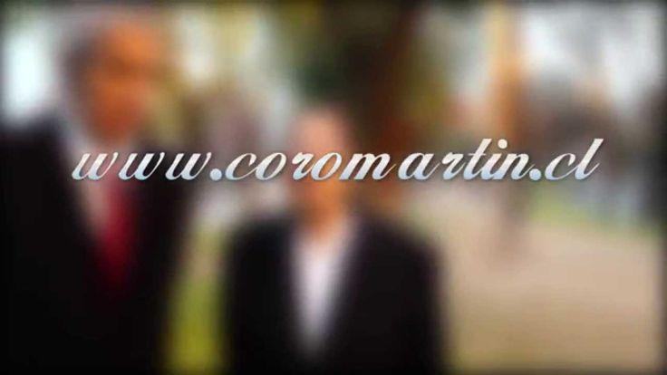 Producciones RM Presenta al CORO MARTIN www.coromartin.cl.Fonos: 61350140 / 83262332