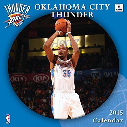 Turner Perfect Timing 2015 Oklahoma City Thunder Team Wall Calendar, 12 x 12 Inches (8011676)