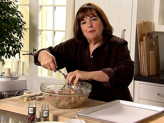 Spicy Turkey Meatballs and Spaghetti Recipe : Ina Garten : Food Network