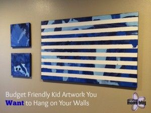 Budget Friendly Kid Art You Actually Want to Hang on the Wall | New Orleans Moms Blog